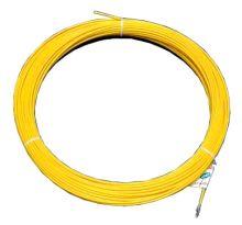 Протяжка кабельная (мини УЗК в бухте), 10м, стеклопруток, d=4мм, латунный наконечник, заглушка.