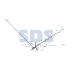 Внешняя всеволновая активная антенна для аналогового и цифрового телевещания в стандарте DVB-T2