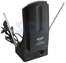 Комнатная антенна REXANT RX-103-2 VHF, UHF, 47-860 MHz с усилением 36dB