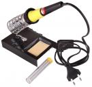 Набор для пайки (паяльник 30 Вт, оловоотсос, подставка, припой) (ZD-303) REXANT