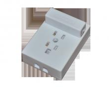 Универсальная телефонная розетка, белая REXANT