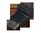 ПЕРЕХОДНИК гн.HDMI - шт.HDMI угловой GOLD REXANT