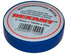 Изолента 15мм х 20м синяя REXANT